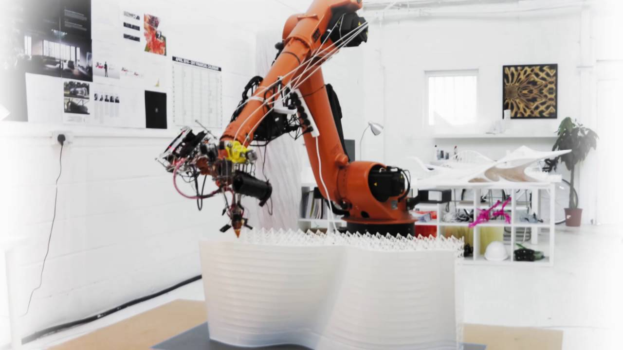 image relating to 3d Printable Robot referred to as Hefty Scale Robot 3D Printing