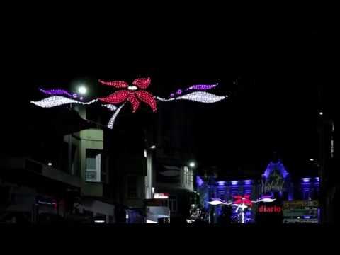 Santander ilumina la Navidad