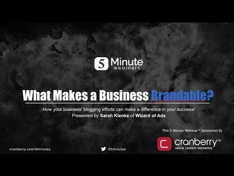 What Makes Your Business Brandable?
