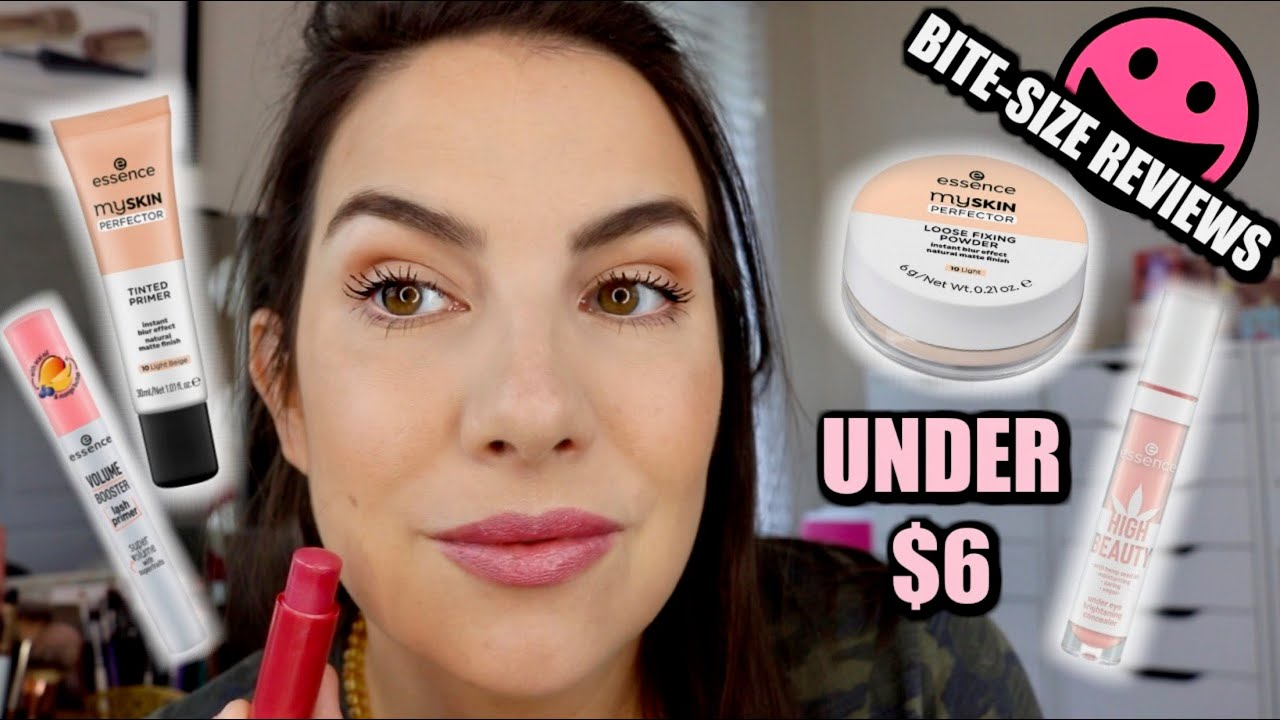 BITE-SIZE REVIEWS: 5 Essence Products in 10 Minutes
