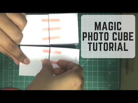 Magic Photo Cube Album - DIY Tutorial | Best DIY IDEAS | Tutorial