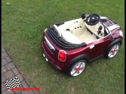 kinder accu auto mini cooper youtube. Black Bedroom Furniture Sets. Home Design Ideas