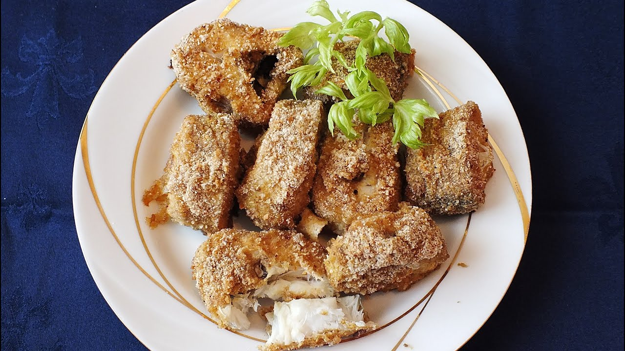 Новогодние рецепты Очень вкусный Минтай в духовке с хрустящей корочкой