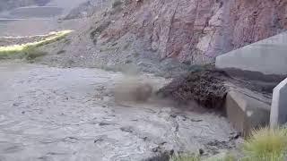 Por la enorme cantidad de sedimentos volverán a limpiar el dique Potrerillos