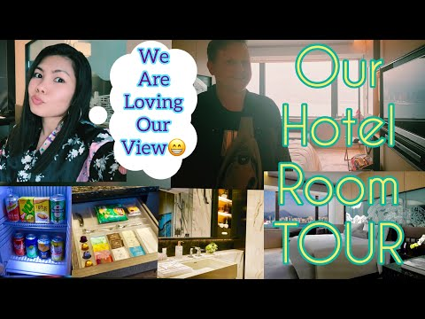 Our Hotel Room Tour | Hotel VIC on the Harbour | 5 Star Hotel in Hong Kong ❤️The HIGGINSes
