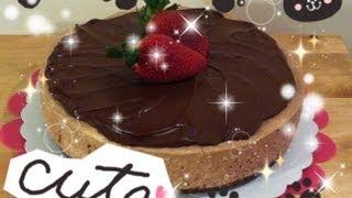 Baileys Irish Cream Chocolate Cheesecake Tutorial