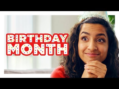The Girl With a 'Birthday Month'