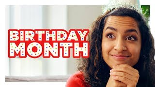 "The Girl With a ""Birthday Month"""