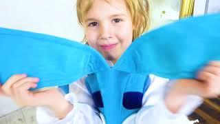 Mania e Vania adoram brincar no café! Coleção de vídeos para toda a família!