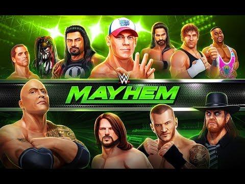 WWE MAYHEM | NUEVO JUEGO DE MÓVIL!