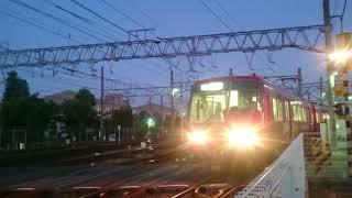 名鉄5300系 新川検査区 入れ換え作業