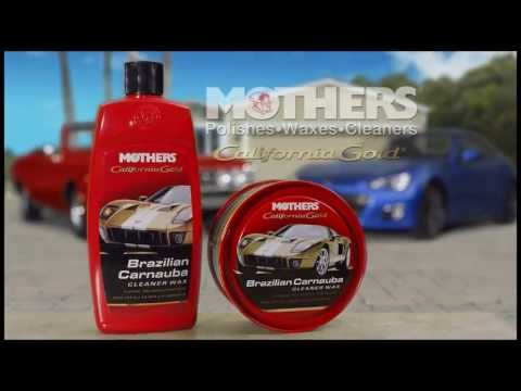Mothers Polish -- 2012 California Gold Brazilian Carnauba Cleaner Wax TV Commercial