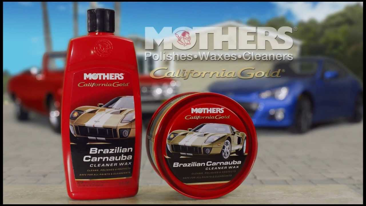 Mothers Car Care >> Mothers Polish 2012 California Gold Brazilian Carnauba Cleaner Wax Tv Commercial