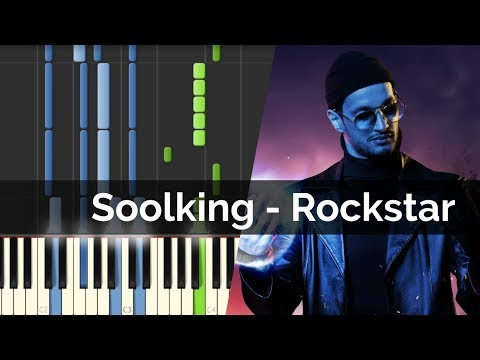 Soolking - Rockstar | Piano Tutorial