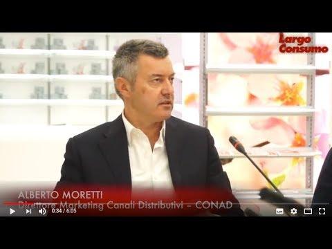 """Alberto Moretti (Conad): """"Il cliente non sceglie più in base alle logiche di prezzo e promozione"""""""
