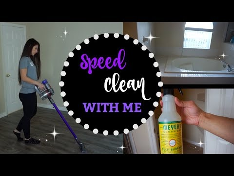 CLEAN WITH ME | SPEED CLEAN MY HOUSE | POWER HOUR CLEANING | VLOGMAS DAY 14