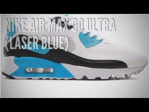 NIKE AIR MAX 90 ULTRA (LASER BLUE) SNEAKERS T