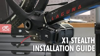 How to build your own E-MTB with CYC X1 Stealth (Torque sensing 1500W mid drive system)