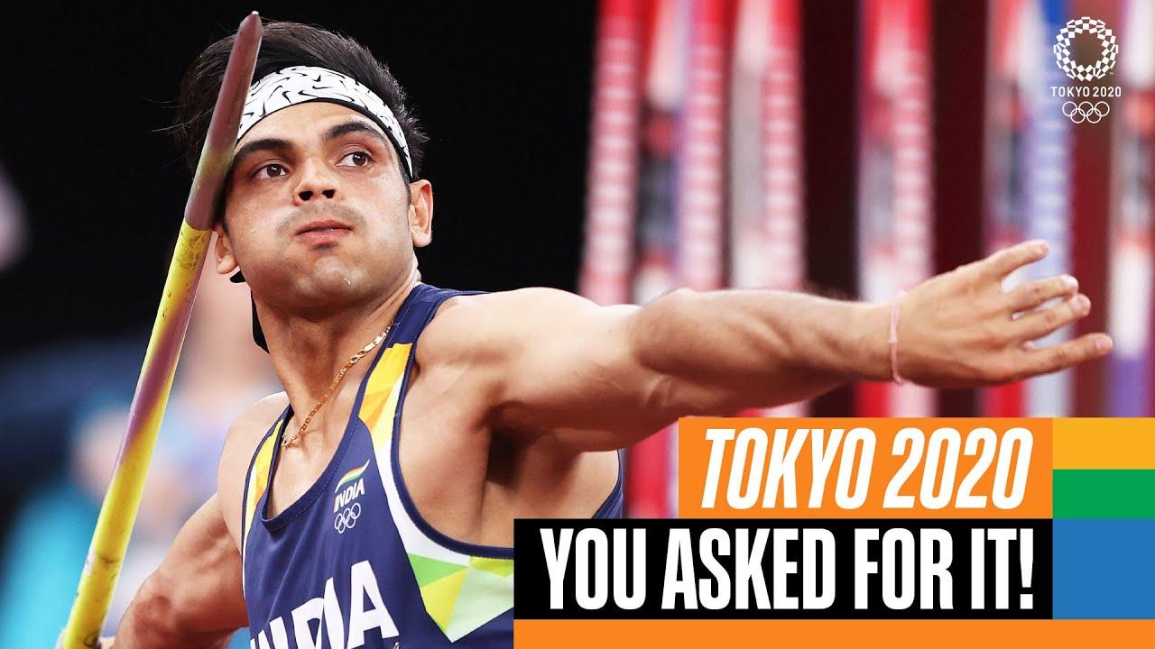 Download Neeraj Chopra's Golden Moment! 🥇 Full Men's Javelin Final | Tokyo Replays