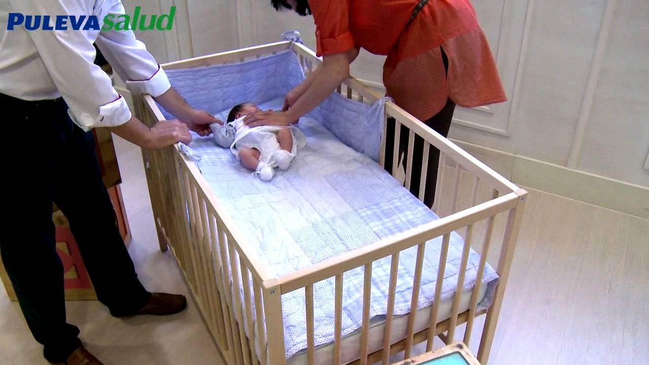 C mo colocar al beb en la cuna y caracter sicas de la - Cunitas para bebe ...