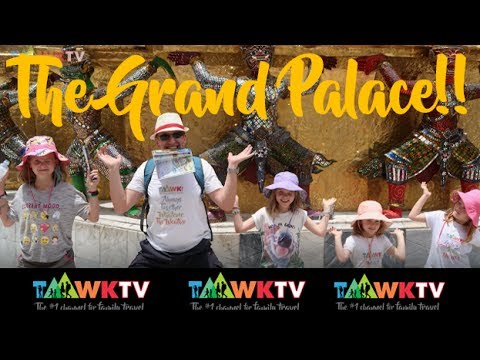 INSIDE BANGKOK: The Grand Palace with kids! Family Travel Mini Guides: TaawkTV