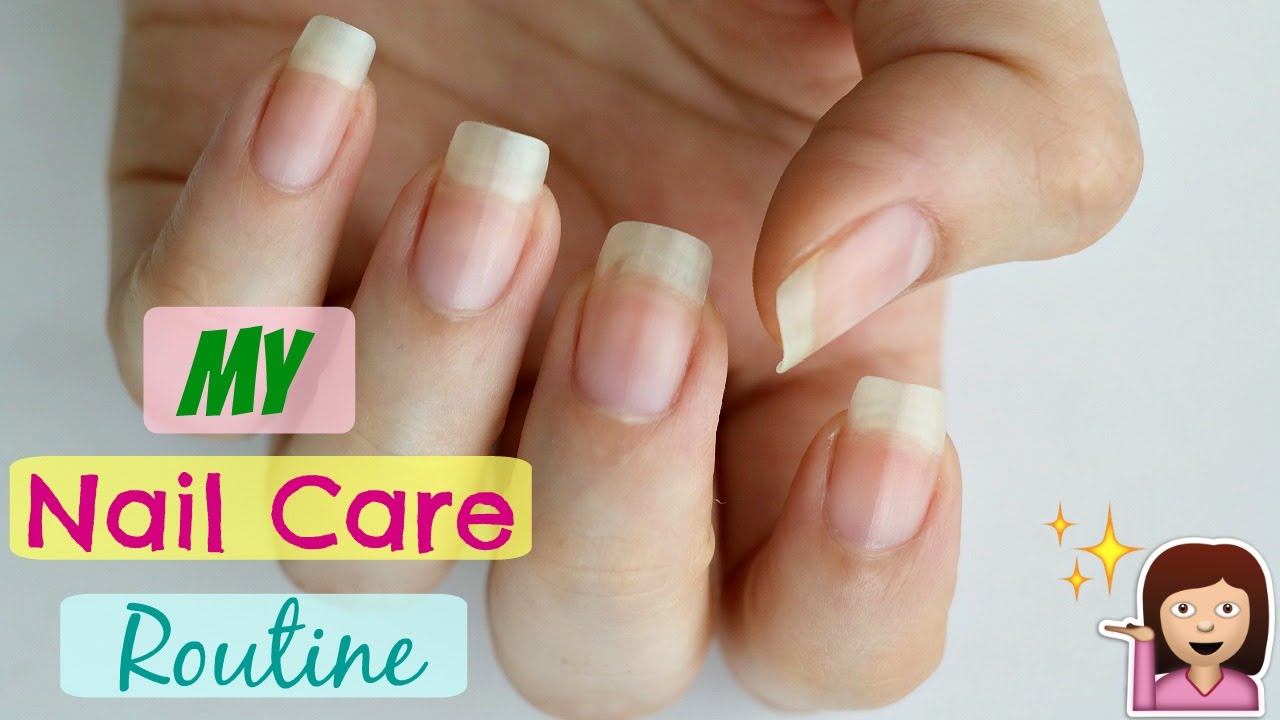 My Nail Care Routine At Home For Stronger and Healthier Nails! - YouTube