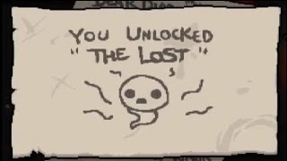 The Binding Of Isaac Rebirth - How To Unlock The Lost! (Before Afterbirth DLC)