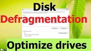 Disk Defragmentation & Drive Optimization