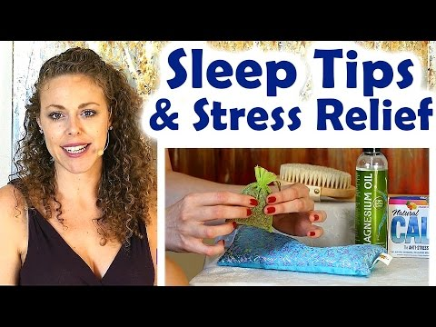 Sleep, Stress & Anxiety! Health Tips for Relaxation | Late Night Snacks, ASMR, Bedding, Bedtime!
