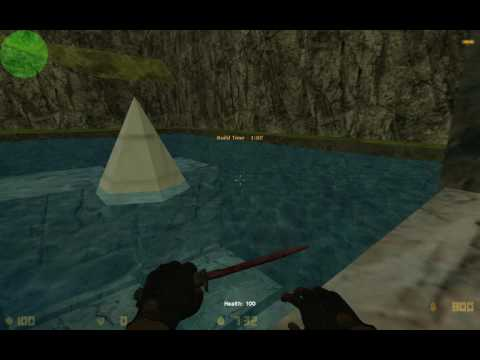 Counter-Strike 1.6: Zombie Base Builder Tutorial - Water Aground