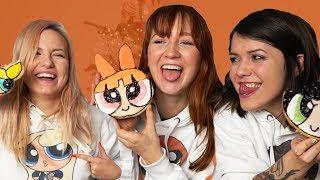 Die Powerpuff Girls backen Plätzchen