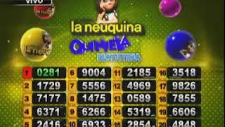 SORTEO DE QUINIELA MATUTINA Nº 22578 / 06-08-19 - LOTERIA LA NEUQUINA