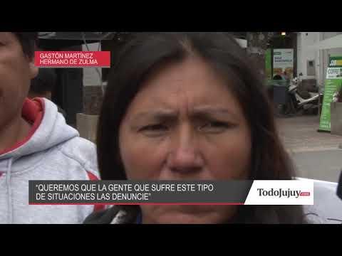 Familiares y amigos de Zulma Valencia pidieron justicia en el centro de San Salvador