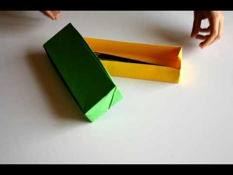 Caixa Origami Com Folhas A4 Youtube