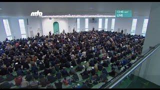 Freitagsansprache 30.12.2016 - Islam Ahmadiyya