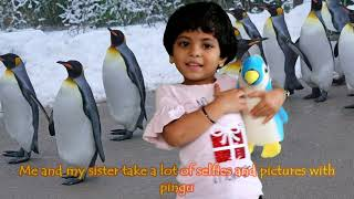 Penguin Toy Talk Show Competition for Kids || Talk about a Favorite Toy