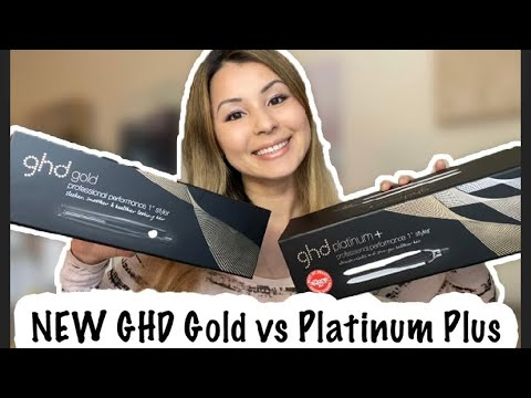 New GHD Platinum Plus Vs Gold | Which One Is Better?!