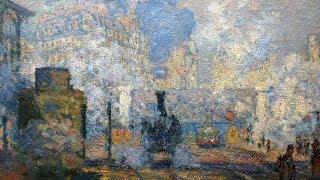Painting modern life: Monet's Gare Saint-Lazare
