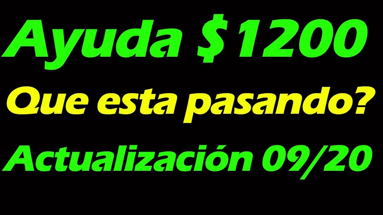 Segundo CHEQUE $1200 Estímulo Económico/ Ayuda LOWE - ACTUALIZACION 09-20 / MARCOS TV