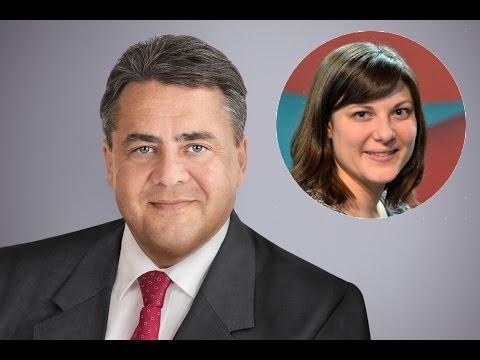 Auseinandersetzung Uekermann (Jusos) und Vizekanzler Gabriel (SPD)