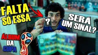 ÁLBUM DA COPA DO MUNDO DE 2018 - COMPLETANDO SELEÇÕES E ABRINDO PACOTES!