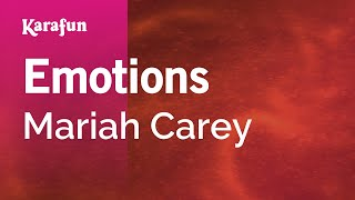Karaoke Emotions - Mariah Carey *