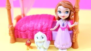 Sofia The First And Royal Bed Toy Review Disney Princess Alltoycolleoctor