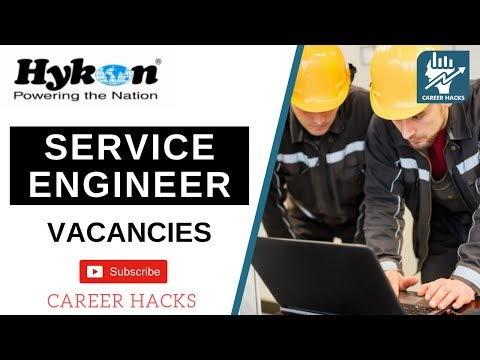 Service Engineer | Hykon India | Kerala Job Vacancy