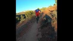 Lower scorpion trail in Sedona with Nate hills and Alex Petitdemange