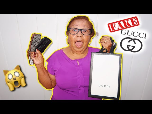 BUYING MY GRANDMA FAKE GUCCI PRANK!!