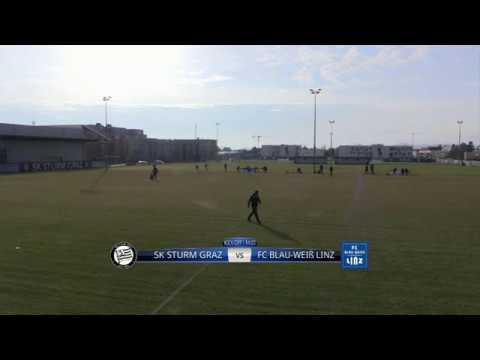 Spielaufzeichnung: Sturm Graz 2:2 Blau-Weiß Linz (1:0)