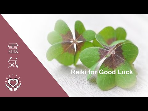 Reiki For Good Luck | Energy Healing
