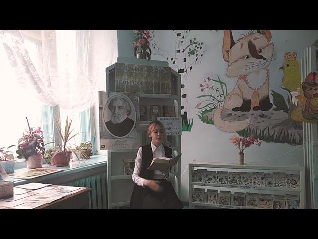 Изображение предпросмотра прочтения – ВикторияСаяпина читает произведение «Весенний вечер» И.С.Тургенева