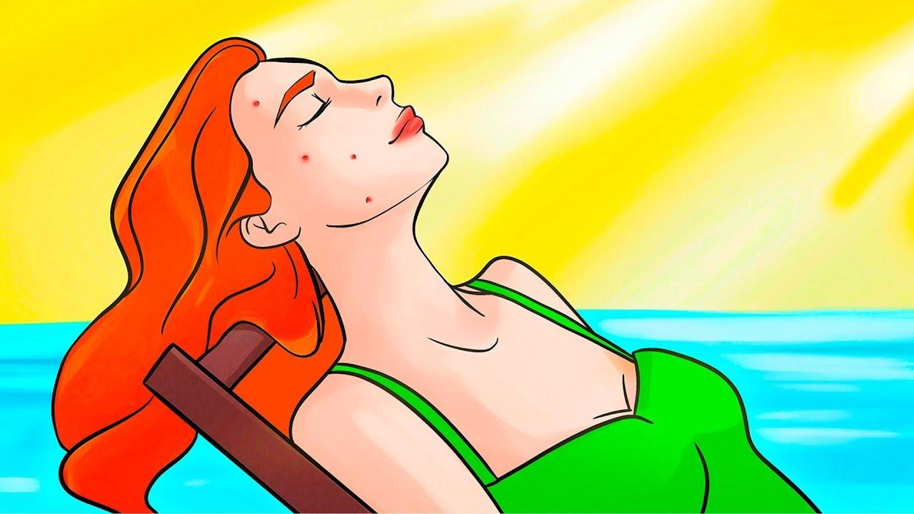 Güneş banyosu yaptığınızda vücudunuzda aslında neler olur?